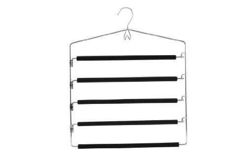 zeller-multi-bar-trouser-hanger-wood-multi-colour-37-x-445-cm