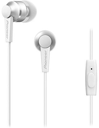 Pioneer C3 Lightweight In-Ear Headphone with Powerful 10 mm Driver and High Quality Aluminium Design – White 312V Jx3ojL  Smart Headphones 312V Jx3ojL