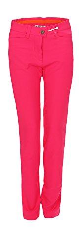 MAXX Golf Hose Mädchen mit verstellbaren Bund (pink, 140)