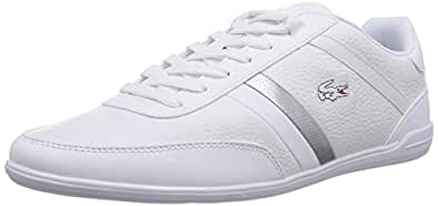 2f9bea7754fb Lacoste Giron SCY, Baskets Basses Homme, Blanc-Weiß WHT 21G, Taille ...