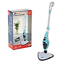 10 in 1 1500W Neo® Hot Steam Mop Cleaner Floor Carpet Window Washer Hand Steamer (Blue)
