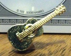 Monopoly Klassik Limited Edition goldene Bonus Gitarren-Spielfigur