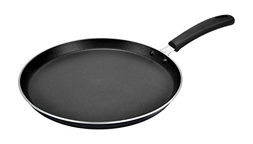 Tosaa 3mm Black Non Stick Flat Tawa, 28.5cm