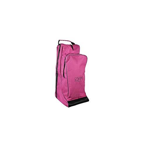 netproshop Reitsport Unisex Kombination Reitstiefel- und Helmtasche in Einem, Farbe:Rosa