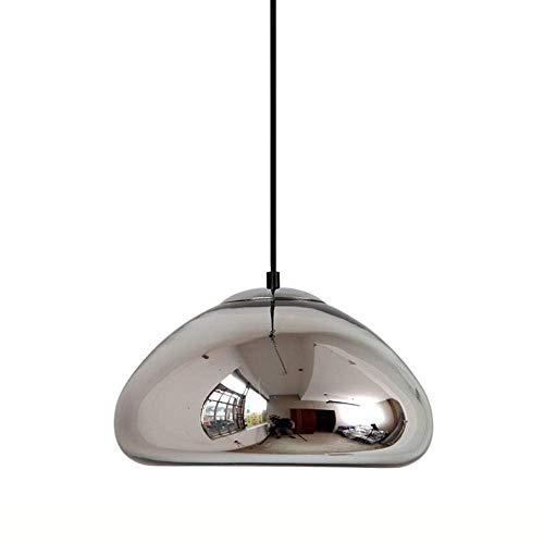 Kleine Schüssel-licht-anhänger (Hai Ying ♪ Hängeleuchte aus poliertem Glas auf dem Balkon, Hängeleuchte in Form Einer goldenen Schüssel, Industrie-Zubehör)