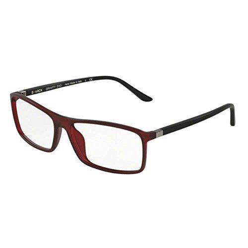 Starck eyes occhiali da vista 0sh3031 matte red uomo