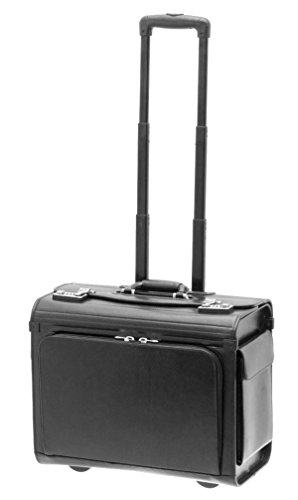 Pilot case trolley Davidt s reference D462053 couleur 01 - Black