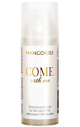 MangoKiss Stimulationsgel COME WITH ME - Intimgel für Frauen und Männer mit stimulierendem heiß-kalt Effekt - intensiverer Orgasmus (Sextoys und Sex)