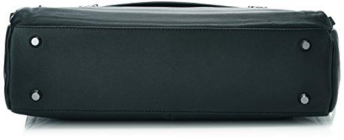 Mandarina Duck DUPLEX CARTELLA BUNGEE CORD 142FUC04 Herren Henkeltaschen 12x31x40 cm (B x H x T) Schwarz (Black)