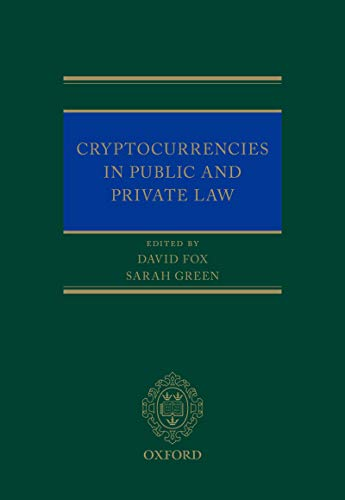 Cryptocurrencies in Public and Private Law (English Edition)