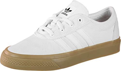 newest 05282 5f76f adidas Unisex-Kinder Adi-Ease J Skateboardschuhe Weiß FTWR WhiteGum4Core