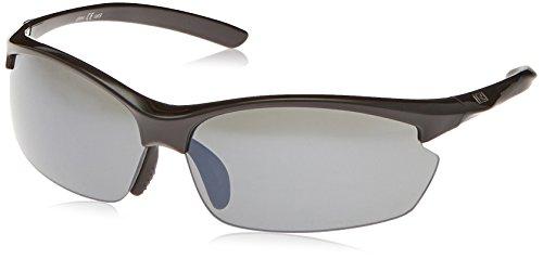 Optic Nerve Omnium Sunglasses, 2 Sets (Shiny Black, Smoke/Copper)