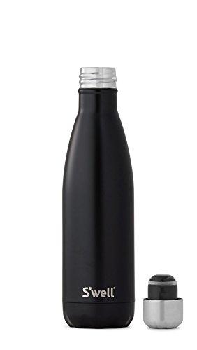 S'well Herren Damen Große Londoner Schornstein Flasche Schwarz - 2