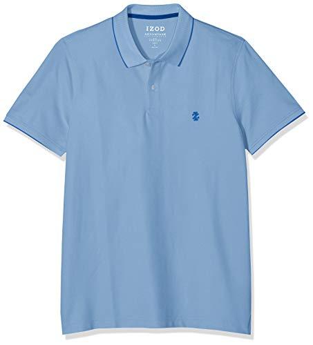 Izod Herren Hemden (IZOD Performance - Poloshirt für Herren, Shirt aus hochwertigem Piqué-Stoff, farbenfrohes Basic, kurzarm Polo-Hemd, moderne & sportliche Herrenbekleidung, Größen: S - XXL)