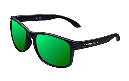 Northweek Unisex-Erwachsene Bold Sonnenbrille, Mehrfarbig (Verde), 52