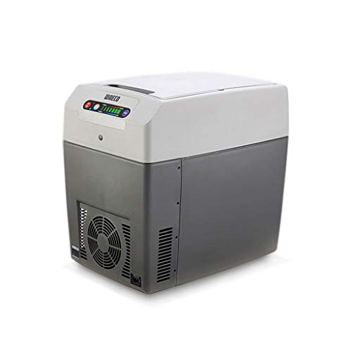 Xinjin Autokühlschrank Tragbare Kühl- und Wärmebox LED-Anzeige, Temperaturspeicherfunktion für Reisen und Camping, DC12V / 24V -