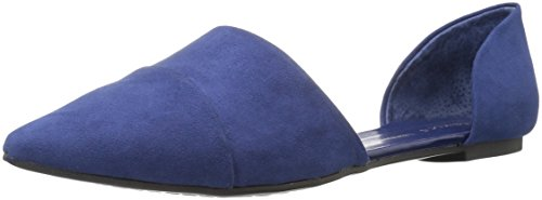 Chinese Laundry Damen Easy Does It D'Orsay, flach, Bright Navy Suede, 35 M EU Chinese Laundry Ballerinas