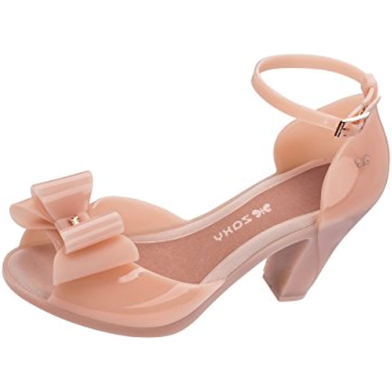 Zaxy Diva Bow 2 Femmes Jelly High High High Heels/Chaussures - B07CP651S9 - 59e763