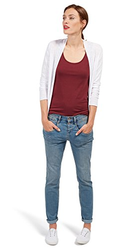 TOM TAILOR für Frauen Denim Tapered Relaxed Jeans light stone wash denim 31/32 (Frauen Wash Light)