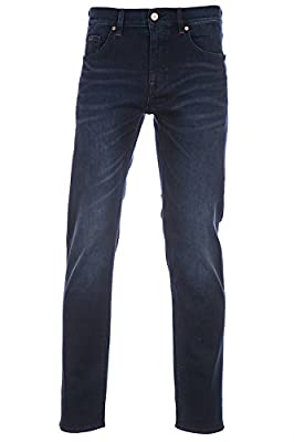 Hugo Boss Jean C-Maine in Dark Blue Denim