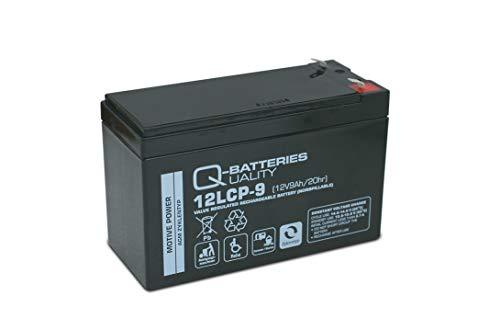 Longex Blei Gel Bleigel Akku Batterie 12V 9Ah 12LCP-9 Zyklentyp Deep Cycle AGM wie 7,2Ah (Batterie-deep - Cycle)