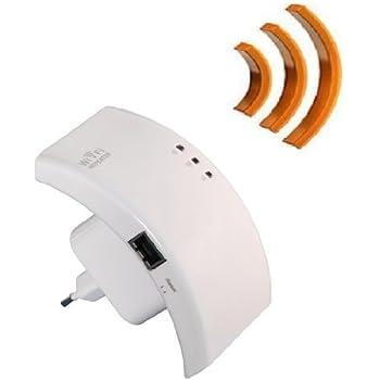 WiFi Répéteur et Point d'accès aller jusqu'à 300 / 150 / 54 Mbit WLAN Wireless amplificateur pour que prise de courant inclue LAN comparaison * pour 802.11 b/g/n Standards
