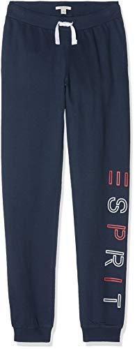 ESPRIT KIDS Mädchen Knit Pants Perm Sporthose, Blau (Navy 490), (Herstellergröße: 104+) Kind Knit Pant