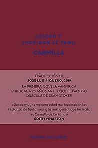 Carmilla par  Joseph T. Sheridan Le Fanu