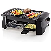 Princess 162800 Raclette 4 Grill Party 4 Persoons Zwart