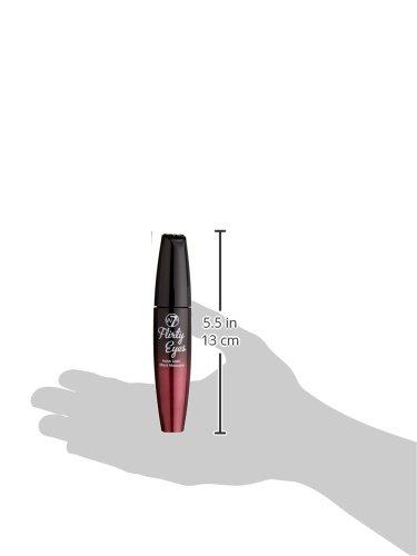 w7, Flirty eyes, Eyeliner liquido, Nero, 15 ml