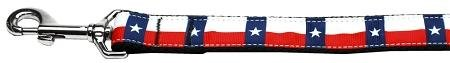 Mirage Pet Products 125–1831006Texas Flagge Nylon Hunde Leine, 6' (Texas-flagge Klassische)
