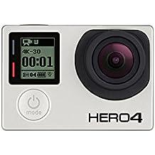 GoPro HERO4 Black Edition Adventure - Videocámara deportiva (12 Mp, Wi-Fi, Bluetooth, sumergible hasta 40 m)