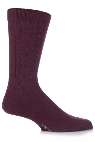 viyella-chaussettes-basses-homme-rouge-mulberry-moyen