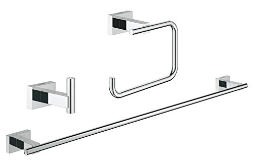 GROHE Essentials Cube | Badaccessoires - Bad Set 3-in-1 | 40777001