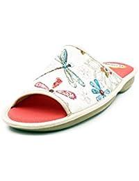 Zapatilla mujer para andar por casa BIORELAX - Suapel color turquesa - 0482 - 3 (35, turquesa)