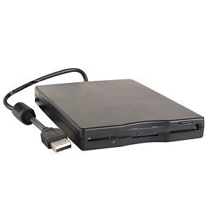 Sanoxy® 1.44mb Usb External Floppy Disk Drive (black)