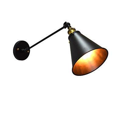 E27 Led Lights Buzz Paint Applique murale unique en acier inoxydable Dumb Black Lightsaber Lamp On Wall