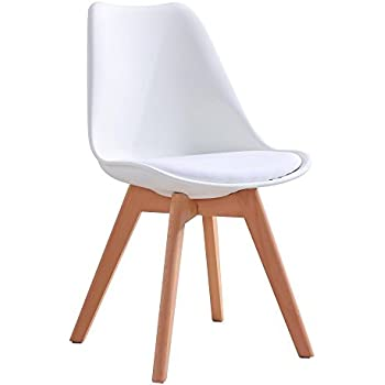 Mmilo Tulip Pyramid Dining Chairs Office Chair With