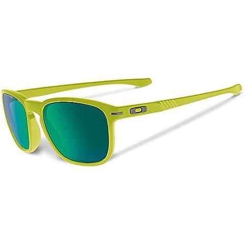 Oakley Enduro–Gafas de sol, diseño de helecho mate con jade iridio polarizadas lente