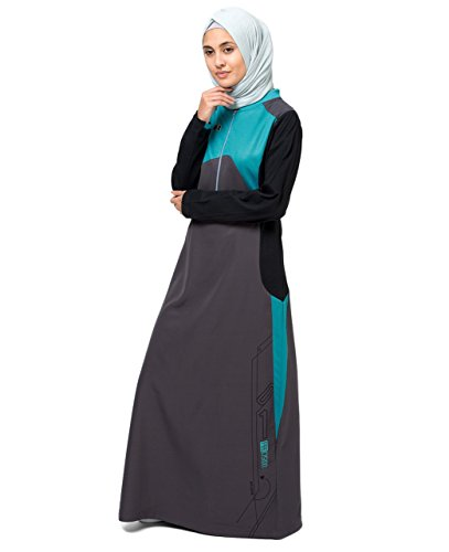 Tri Coloured Abaya XXL 56, used for sale  Delivered anywhere in UK