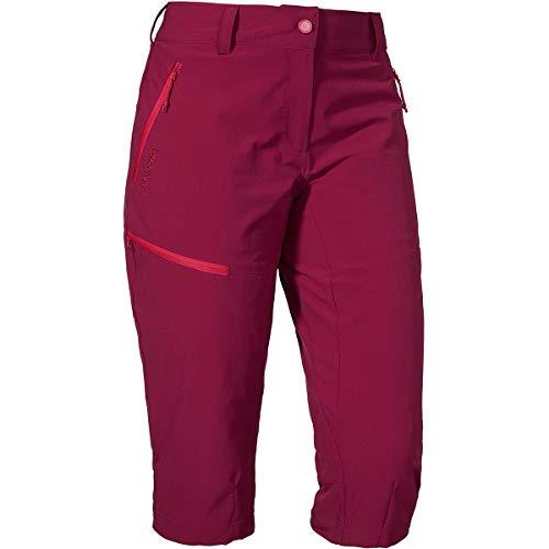 Schöffel Pants Caracas2 Damen Hose, leichte und kühlende Wanderhose aus elastischem Stoff, vielseitige Outdoor Hose mit optimaler Passform und praktischen Taschen