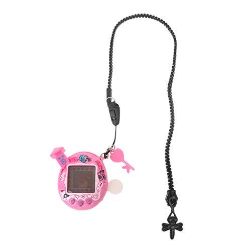 Cutebility LCD Cyber Virtual Digital Pet Electronic Game Machine Mit Zipper Neck -Lanyard