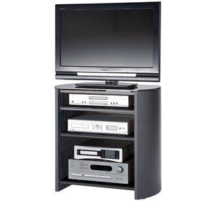 Black Oak Veneer TV Stand for screens up to 37 inch