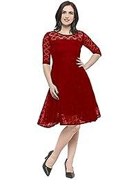 c8fff37305d8 Reds Women's Dresses: Buy Reds Women's Dresses online at best prices ...
