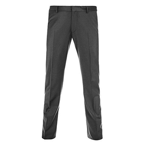 Benvenuto Black - Slim Fit - Herren Baukasten Hose in Dunkelblau oder Grau, Vito (20751, Modell: 62606) Asphalt (0415)