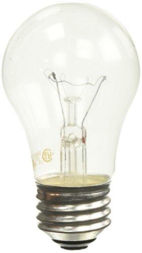 GE 60Watt Crystal Clear 2er Pack Deckenventilator Leuchtmittel (Ge-deckenventilatoren)