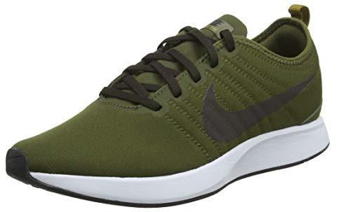 official photos 619cd 875d8 Nike Dualtone Racer, Zapatillas de Gimnasia para Hombre, Verde (Olive  Canvas/Velvet