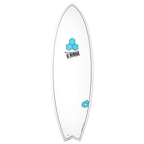 Surfboard CHANNEL ISLANDS X-lite Pod Mod 6.6 weiss Al Merrick Fish EPS Epoxy