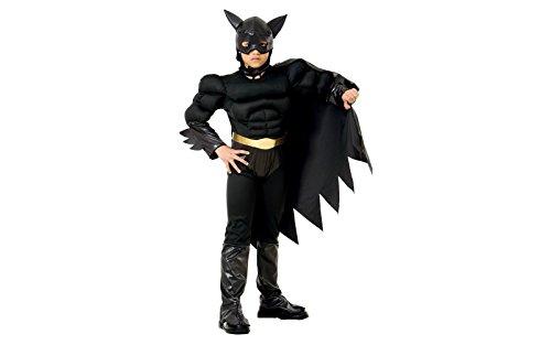 Costume carnevale batman tg s bambino 5/7 anni