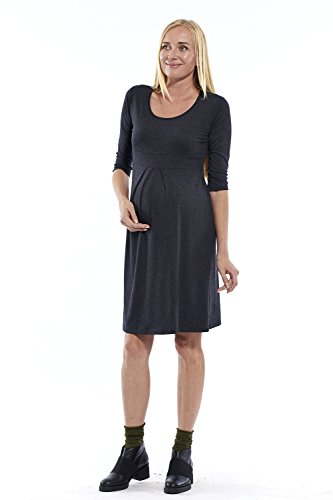 motherway - Robe spécial grossesse - Patineuse - Femme Anthracite